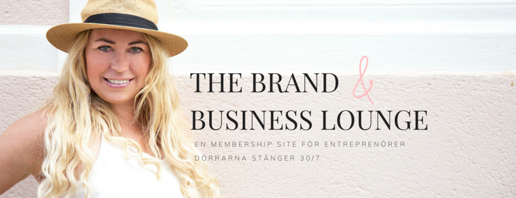 the brand & business lounge