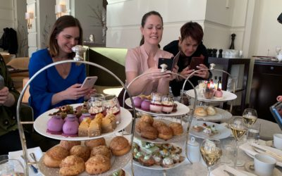 The Brand & Business Lounge afternoon tea at Grand Hotell